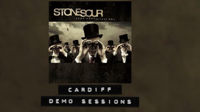 "STONE SOUR Streaming 2005 Demo Recording Of ""Cardiff""; Audio"