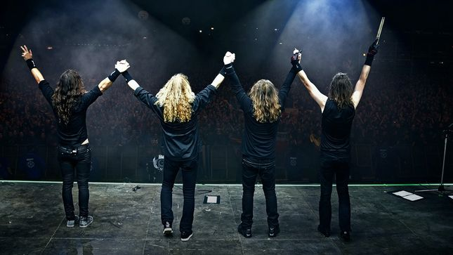 MEGADETH - Pro-Shot Video Of Complete Wacken Open Air 2017 Performance Streaming
