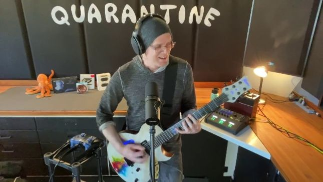 DEVIN TOWNSEND - Quarantine Concert #3 Raises $59,000 US For North Shore University Hospital In New York; Video Of Entire Set Available