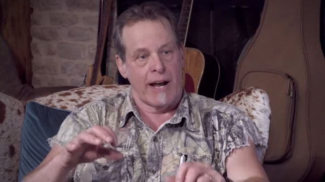 """TED NUGENT Praises THE ROLLING STONES' Keith Richards - """"He Must've Been Drunk On Every Recording, But He's In Control!"""""""