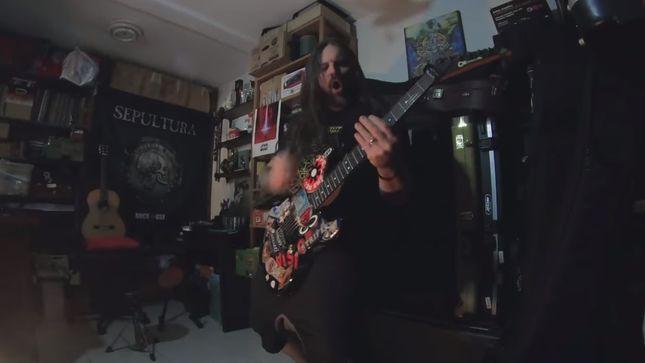 "SEPULTURA Post Live Lockdown Playthrough Of ""Refuse/Resist"""