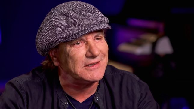"AC/DC Vocalist BRIAN JOHNSON - ""Angus Is Safe And Well"""