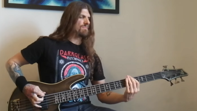 "CRADLE OF FILTH Bassist DANIEL FIRTH - ""Desire in Violent Overture"" Playthrough Video"