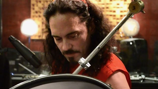 NICK MENZA - Rare Footage Of Late MEGADETH Drummer At Uberbeatz Studios; Video