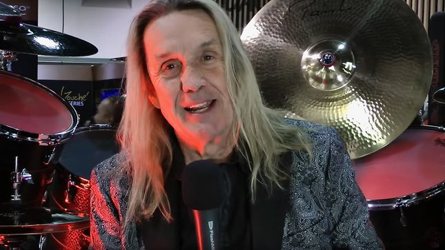 NICKO McBRAIN And ERIC SINGER Featured In Modern Drummer All Access Hits Webinar (Video)
