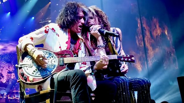 AEROSMITH - 2021 European Tour Rescheduled To 2022
