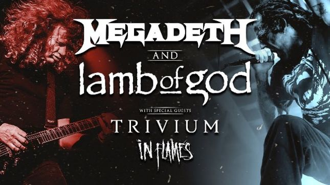 MEGADETH, LAMB OF GOD, TRIVIUM, IN FLAMES  - The Metal Tour Of The Year Stream Available