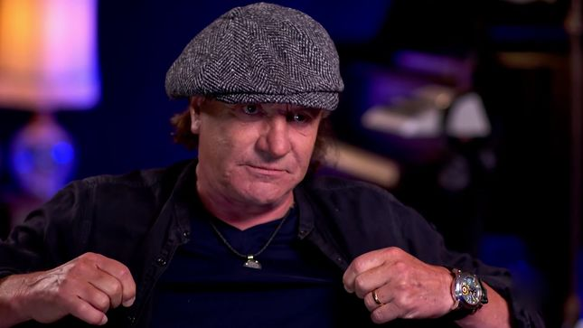 "AC/DC's BRIAN JOHNSON Recalls Stealing BOB DYLAN Album - ""I Walked Out Of That Shop With The Biggest Nipples In Newcastle""; Rock & Roll Firsts Revealed (Video)"