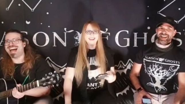 SEASON OF GHOSTS Post New Livestream - More Bickering With Sam & Sophia: Episode 14 Featuring Bassist PAUL DARK BROWN And Hateful Love Songs (Video)