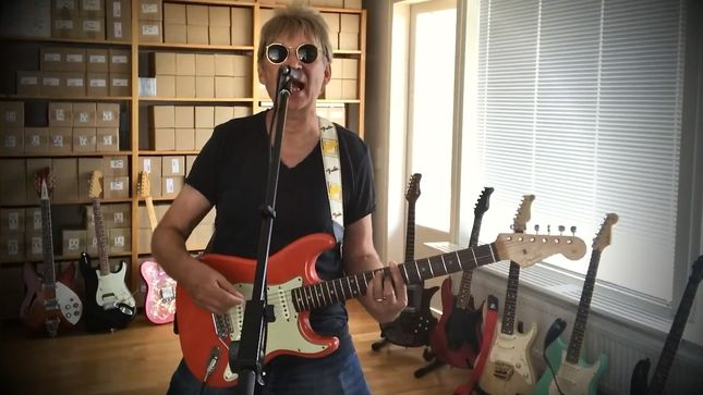 "LARS ERIC MATTSSON Launches Music Video For ""Let Me Rock You"" (2020 Version)"