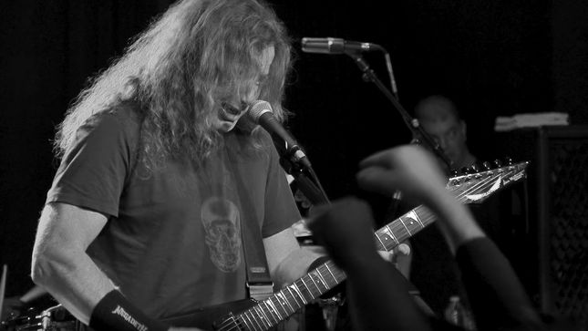 """VIC AND THE RATTLEHEADS aka MEGADETH Perform """"Rattlehead"""" At Secret Show In 2016; Official Video Streaming"""