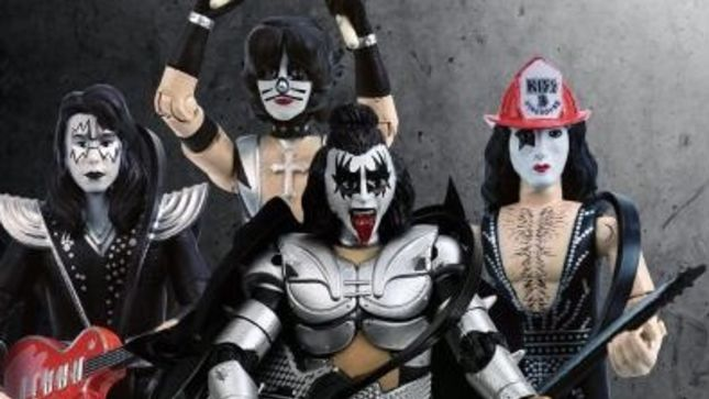 KISS - New Action Figures, Demon For President Shirts Available To Order