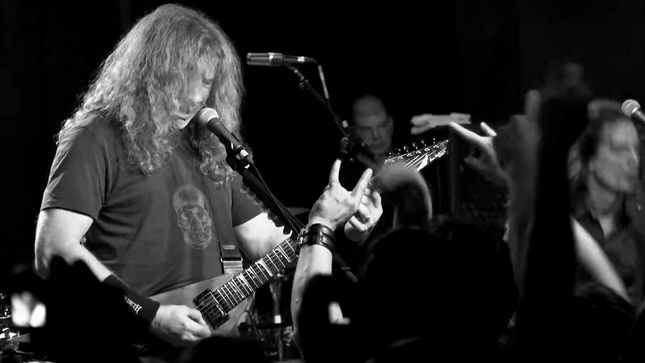 "VIC AND THE RATTLEHEADS aka MEGADETH Perform ""Tornado Of Souls"" At Secret Show In 2016; Official Video Streaming"