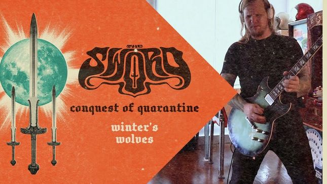 """THE SWORD Release """"Winter's Wolves"""" From Conquest Of Quarantine Lockdown Sessions; Video"""
