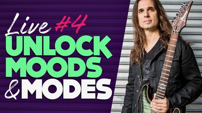 "MEGADETH Guitarist KIKO LOUREIRO Posts ""Live #4 - The Real Order Of The Modes""; Video"