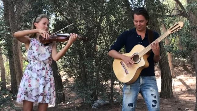 THOMAS ZWIJSEN, WIKI KRAWCZYK исполняют традиционную ирландскую песню