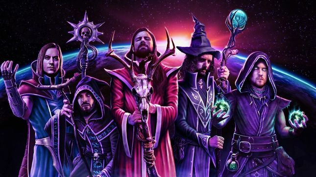 WIZARDTHRONE - Extreme Metal Supergroup Feat. Members Of ALESTORM, GLORYHAMMER, AETHER REALM And More Signs Worldwide Deal With Napalm Records And Napalm Events