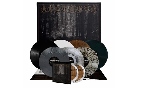 BEHEMOTH To Reissue And The Forests Dream Eternally EP On Vinyl And CD; Pre-Order Now