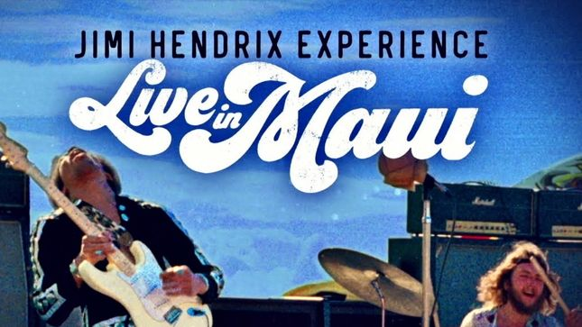 "JIMI HENDRIX EXPERIENCE - ""Foxey Lady"" (Live In Maui, 1970) Video Posted"