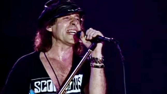 "SCORPIONS Perform ""Hit Between The Eyes"" Live In Berlin; Rare 1991 Video Streaming"