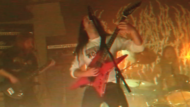 BLOOD INCANTATION - Hidden History Of The Human Race - Live In The Rehearsal Space