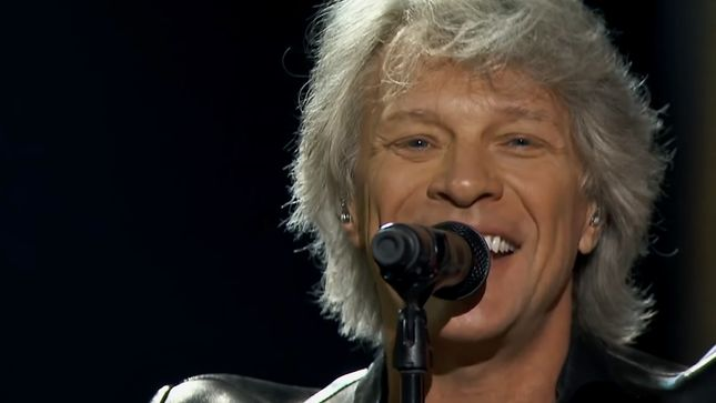 BON JOVI Guests, Performs On The Late Show With Stephen Colbert; Video
