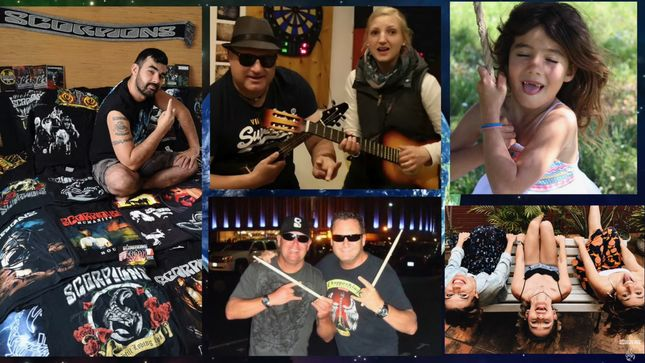 "SCORPIONS Release ""Sign Of Hope"" (Fan Signs Video 2)"