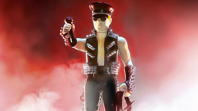 JUDAS PRIEST – Super7 ROB HALFORD ReAction Figure Announced