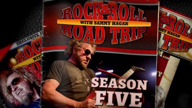 SAMMY HAGAR's Rock & Roll Road Trip: Deleted Scenes With REO SPEEDWAGON, Preview Of Next Episode Available