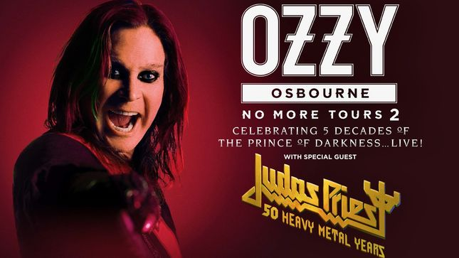 OZZY OSBOURNE Announces Rescheduled European Tour With JUDAS PRIEST