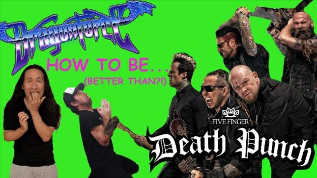 DRAGONFORCE Write A FIVE FINGER DEATH PUNCH Song In 5 Minutes (Video)
