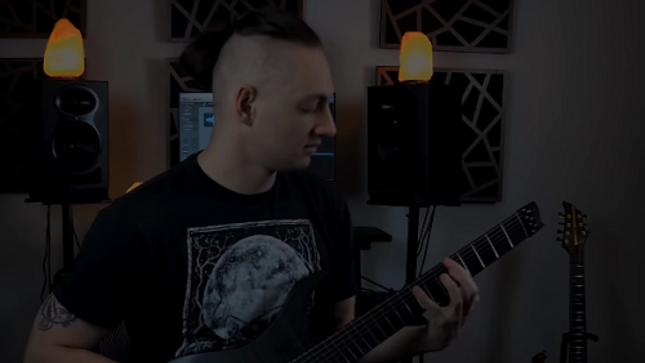 "AENIMUS Release Official Guitar Playthrough Video For ""Caretaker"""