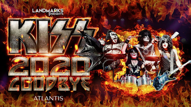 KISS - New Year's Eve Live Streaming Event From Dubai Will Feature $1 Million In Pyro
