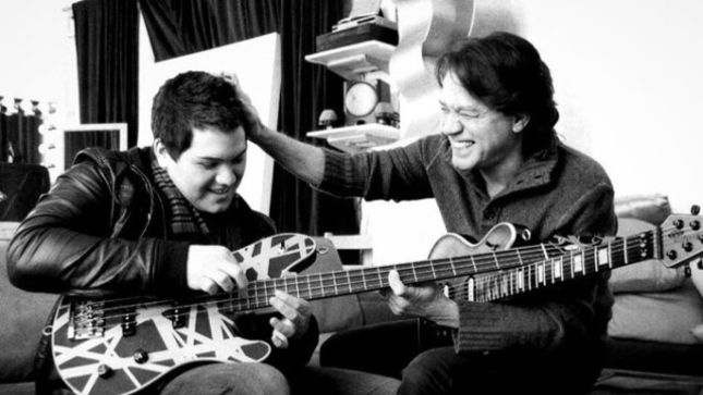 "WOLFGANG VAN HALEN Talks Success Of ""Distance"" Debut Single, EDDIE VAN HALEN Supporting His Music Career - ""I Couldn't Be Happier To Be Fulfilling His Dream For Me"""