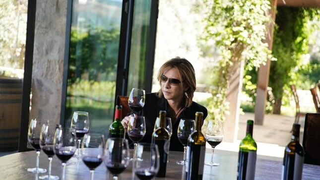 X JAPAN Drummer YOSHIKI Unveils Five New Signature Wines