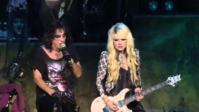 "ORIANTHI On Working With ALICE COOPER - ""He's Got His Shit Completely Together; An Incredible Person"""