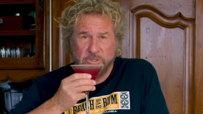 SAMMY HAGAR Shares Red Saint Cocktail Recipe In New Video