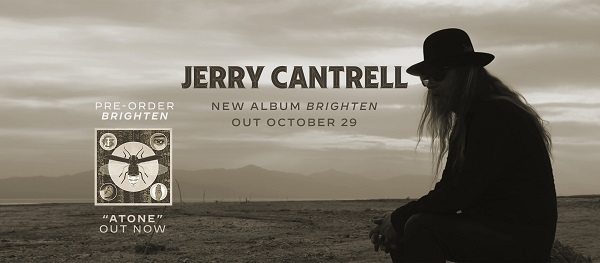 """JERRY CANTRELL Releases """"Atone"""" - First Single / Video From Brighten Solo  Album - BraveWords"""