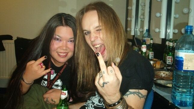 """Former SINERGY Bandmate KIMBERLY GOSS Pays Tribute To ALEXI LAIHO - """"Your  Legacy Will Live On Forever In The Music You Blessed The World With"""" -  BraveWords"""