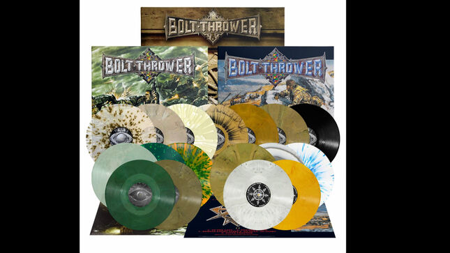 BOLT THROWER - Mercenary, Honour-Valour-Pride, Those Once Loyal LP Reissues Available This Month