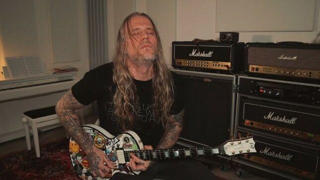 "RED WOLF Guitarist EUGE VALOVIRTA Posts ""Point Of No Return"" Playthrough Video"