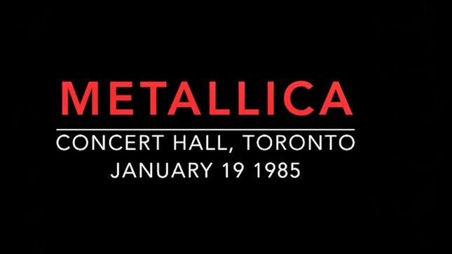 METALLICA - Rare 1985