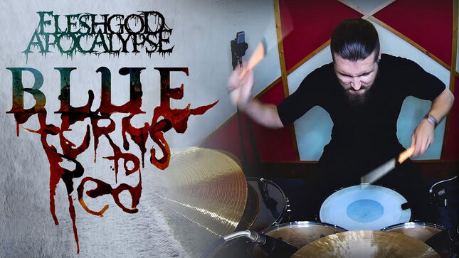 "FLESHGOD APOCALYPSE Release Drum Playthrough Video For ""Blue (Da Ba Dee)"""