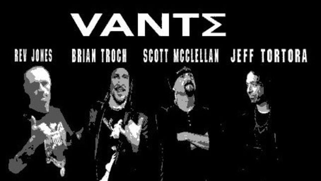 New Band VANTE Featuring Musicians From CYCLONE TEMPLE, MICHAEL SCHENKER GROUP, THE BLUE MAN GROUP Writing Debut Album