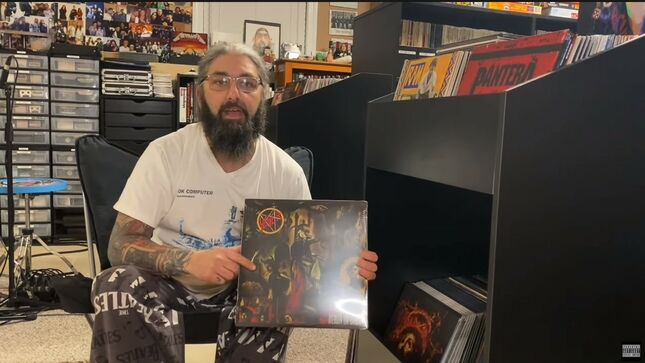 MIKE PORTNOY Highlights SLAYER, TESTAMENT, SYMPHONY X, And More In New Vinyl Collection Episode