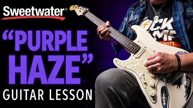 "JIMI HENDRIX - ""Purple Haze"" Guitar Lesson With Former GRIM REAPER Guitarist NICK BOWCOTT; Video"