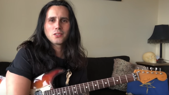 FIREWIND's GUS G. Reveals His First Guitar In New Video