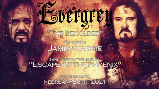 EVERGREY Release Lyric Video For New Song