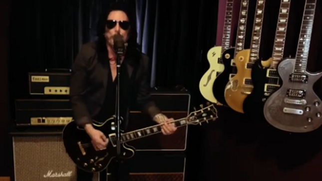 "HALLOWEEN JACK Feat. GILBY CLARKE Cover ELTON JOHN's ""Saturday Night's Alright For Fighting""; Music Video"