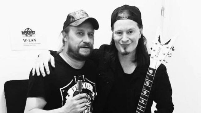 "ARCH ENEMY Guitarist MICHAEL AMOTT Pays Tribute To ENTOMBED A.D. Singer L-G PETROV - ""Thanks For The Good Memories, The Laughs, The Music"""